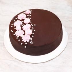 Swirl in Chocolate Cake