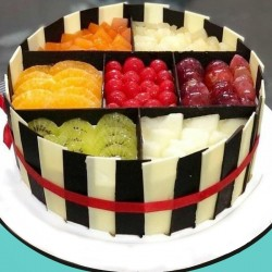 Fruit Splash Cake