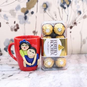 3D Mug and Chocolate Combo