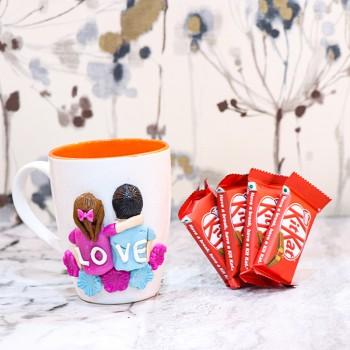 3D Mug with Chocolate Combo