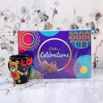 3D Mug and Cadbury Celebration Combo