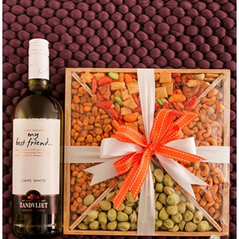 Nut Hamper And Zandvliet White Wine