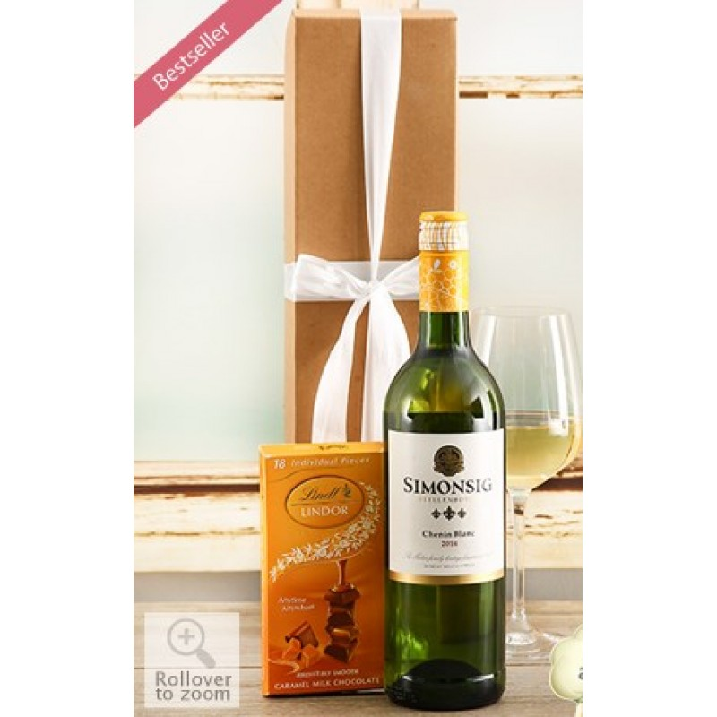 Simonsig Wine and Lindt