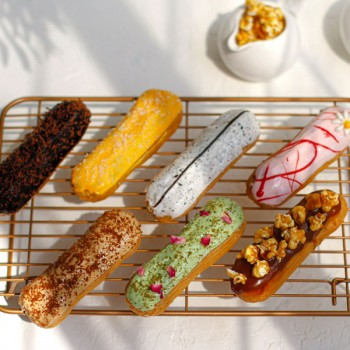 Assorted Eclairs by La Petite Bakery - Box of 5pcs