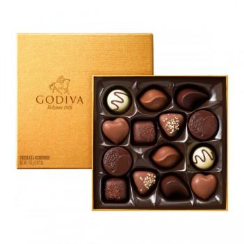 Godiva Gold Rigid Box 14pcs
