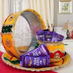 Chocolates Karwa Thali