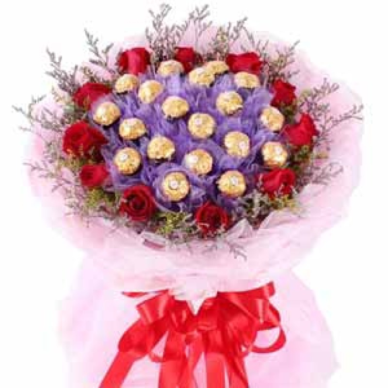 Lamour Belgian Chocolate Bouquet