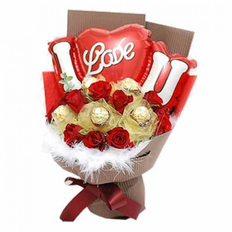 Belgian Chocolate Bouquet