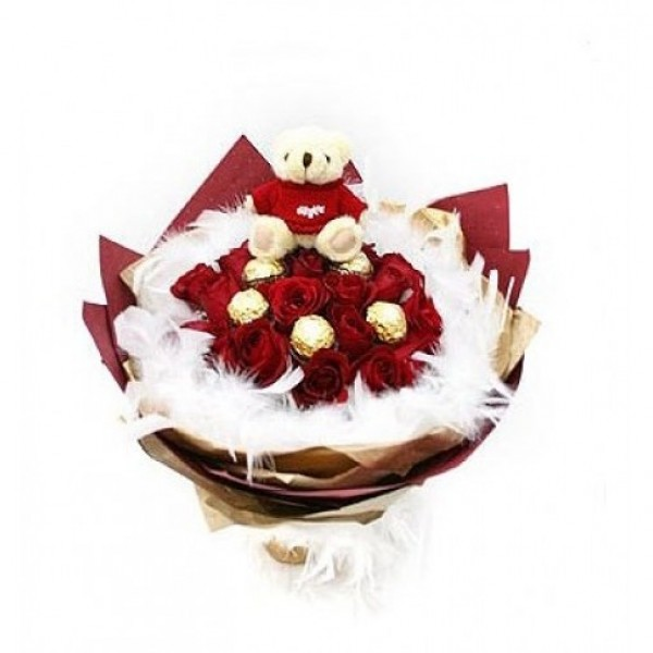 Lamour Belgian Chocolates Bouquet