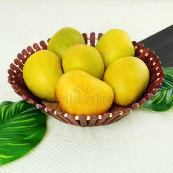A Basket consisting of 1.5 Kg mangoes