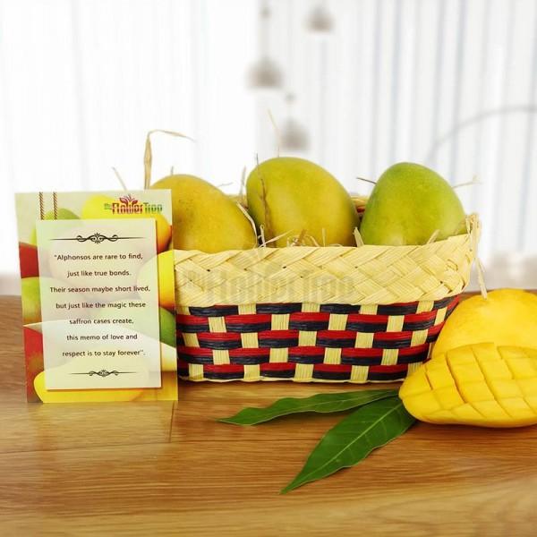 A basket of 1 Kg Mangoes