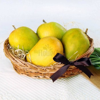 A Basket consisting of 1 Kg mangoes