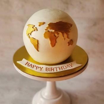Birthday Pinata Cake
