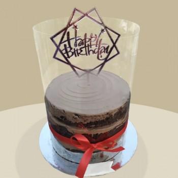 Birthday Pull Up Cake