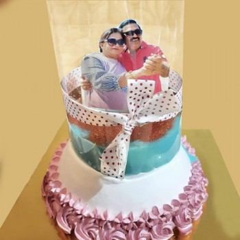 Vanilla Pull Up Cake