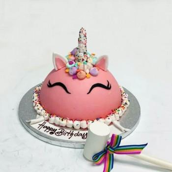 Unicorn Pinata Cake