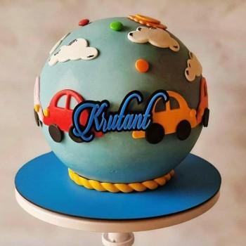 Pinata Car Cake