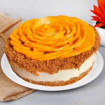 Mango Cheese Cakes