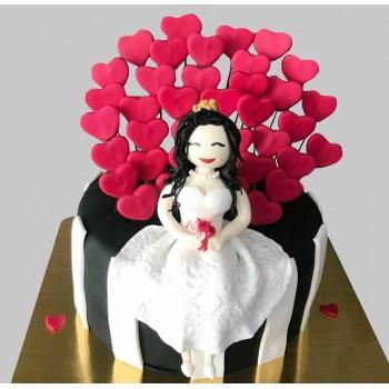 Bride Theme Cake