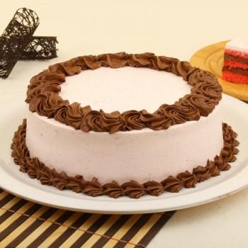 Sugarfree Chocolate Strawberry Cake