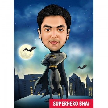 Super Her Brother Caricature