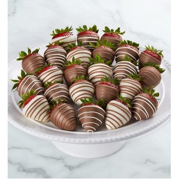 Gourmet Drizzled Strawberries