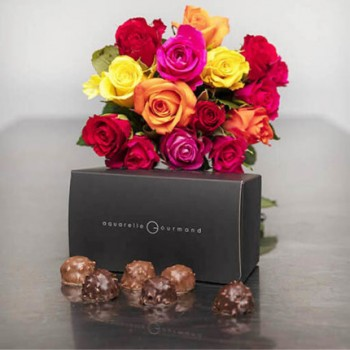 Chocolate Rochers And Roses