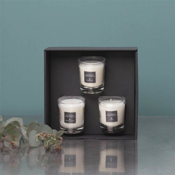 Three 70G Scented Candles Vegetable Wax