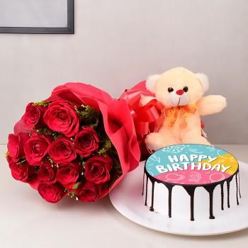 Photo Cake Combo