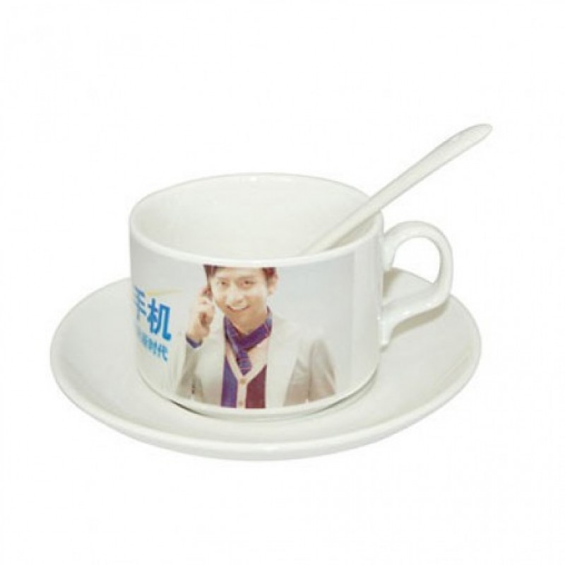 Coffee Cup with Saucer n Spoon