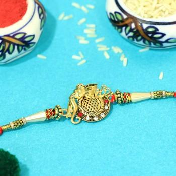 Designer Ganesha Rakhi