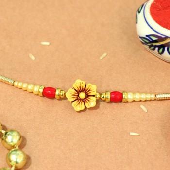 Floral Traditional Rakhi
