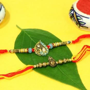 Set of 2 Designer Rakhi