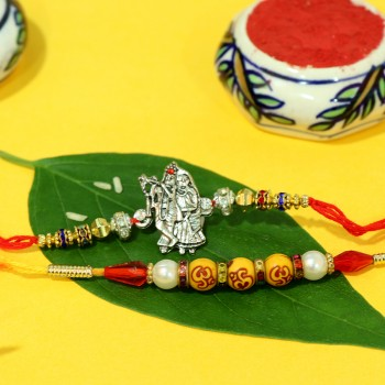 Set of 2 Divine Rakhi