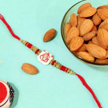 Glorious Ganesha with Almonds