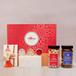 Fuschia Signature Rakhi Box