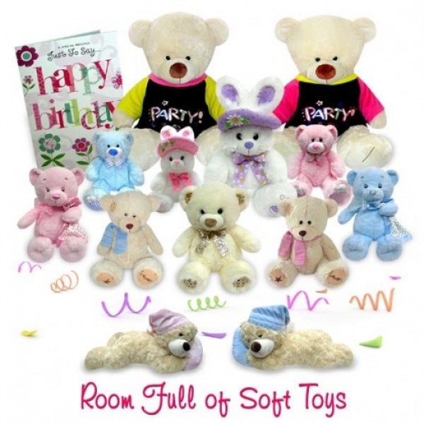 Room Full Of Soft Toys