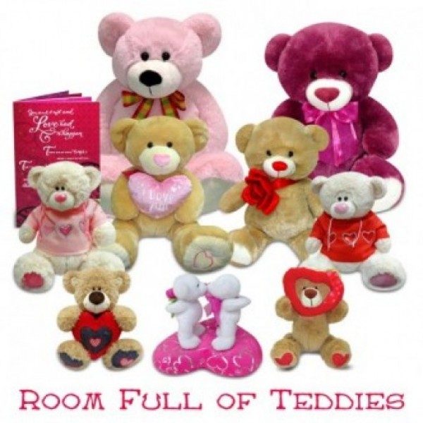 Room Full Of Love Teddies