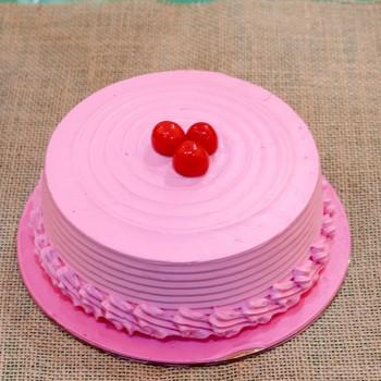 1 Kg Strawberry Cream Cake