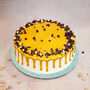Butterscotch Cream Cake Half Kg