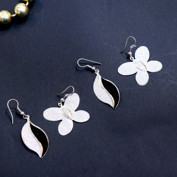 Stunning Silver Earrings Combo