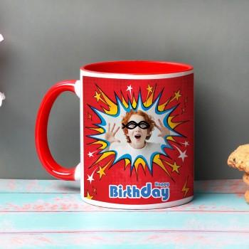 Birthday Blast Photo Mug