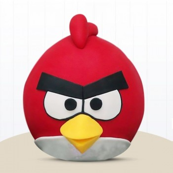 Angry Birds Pinata Cake