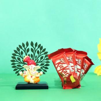Kit Kat With Ganesha