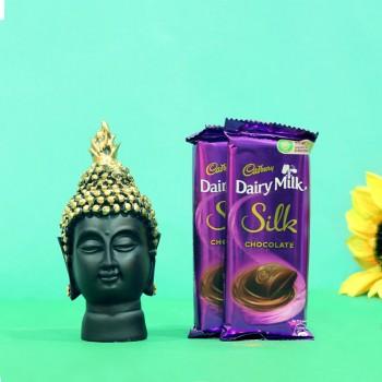 Dairy Milk with Budha