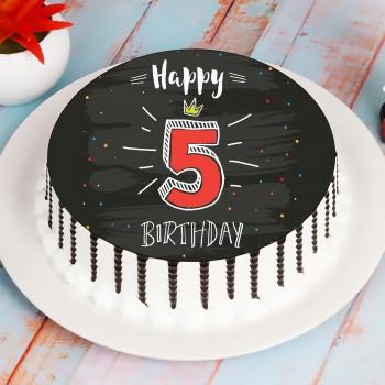 5th Birthday Fun Cake