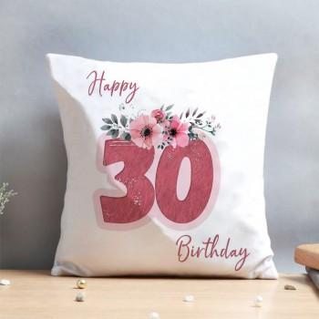 Spectacular 30th Birthday Cushion