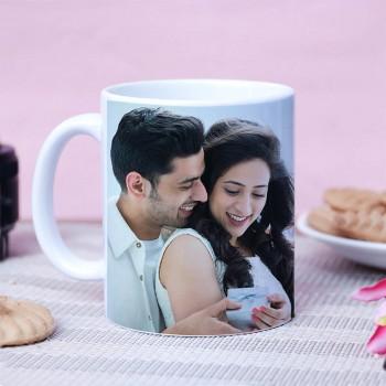 Vibrant 25 Years Celebration Mug