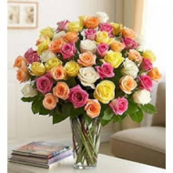 Long Stem Assorted Roses