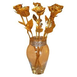 Gold & Silver Plated Roses Online